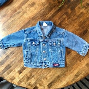 Old baby baby denim jacket 0-12mo